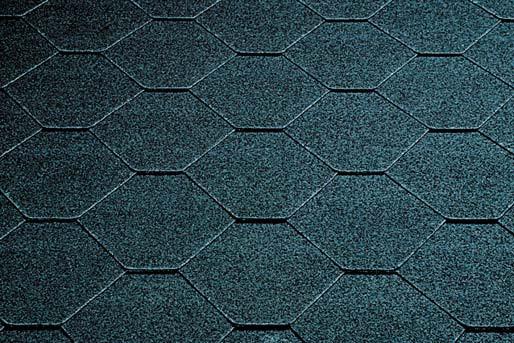 Skraa cierna - asfaltový šindeľ - asfaltovy sindel
