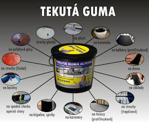 tekuta guma - tekutá guma, tekutá hydroizolácia, tekuta dlazba